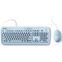Hygiejnisk tastatur og mus.