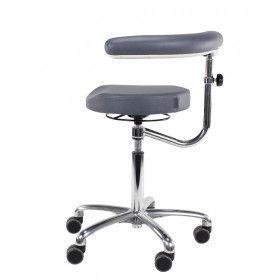 Score Medical 6360 taburett m/hjul och arm/ryggstöd